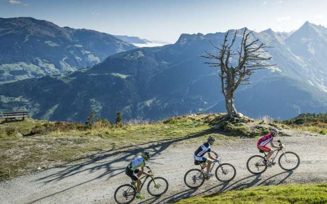 Mountainbike Tour im Zillertal