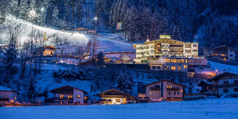 Alpin Family Resort Seetal im Winter